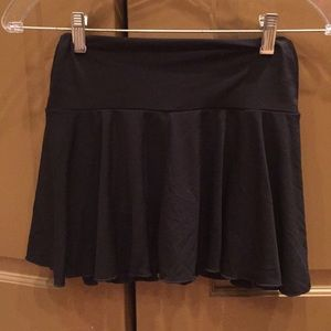 Hot Kiss Black Skirt with built in shorts